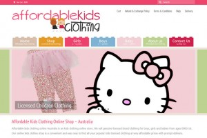 website for affordable children clothes shop online