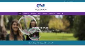 continuum-website-design
