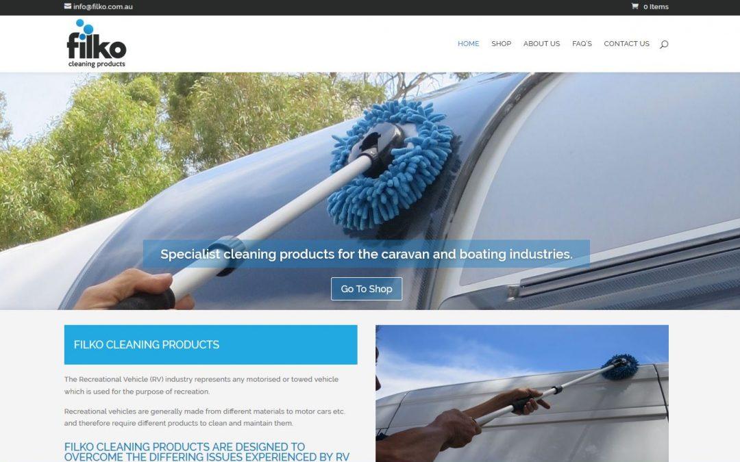 Website design for Filko
