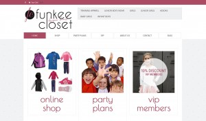Website with ecommerse/shop system