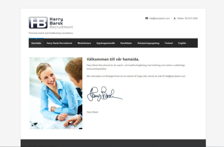 harrybarks-website