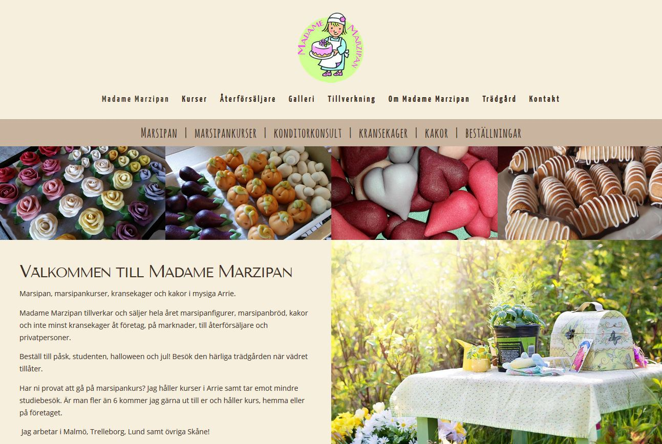 Website design for small business in Sweden