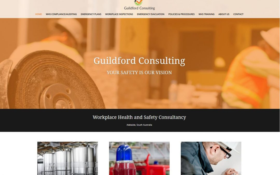 Guildford Consulting business website