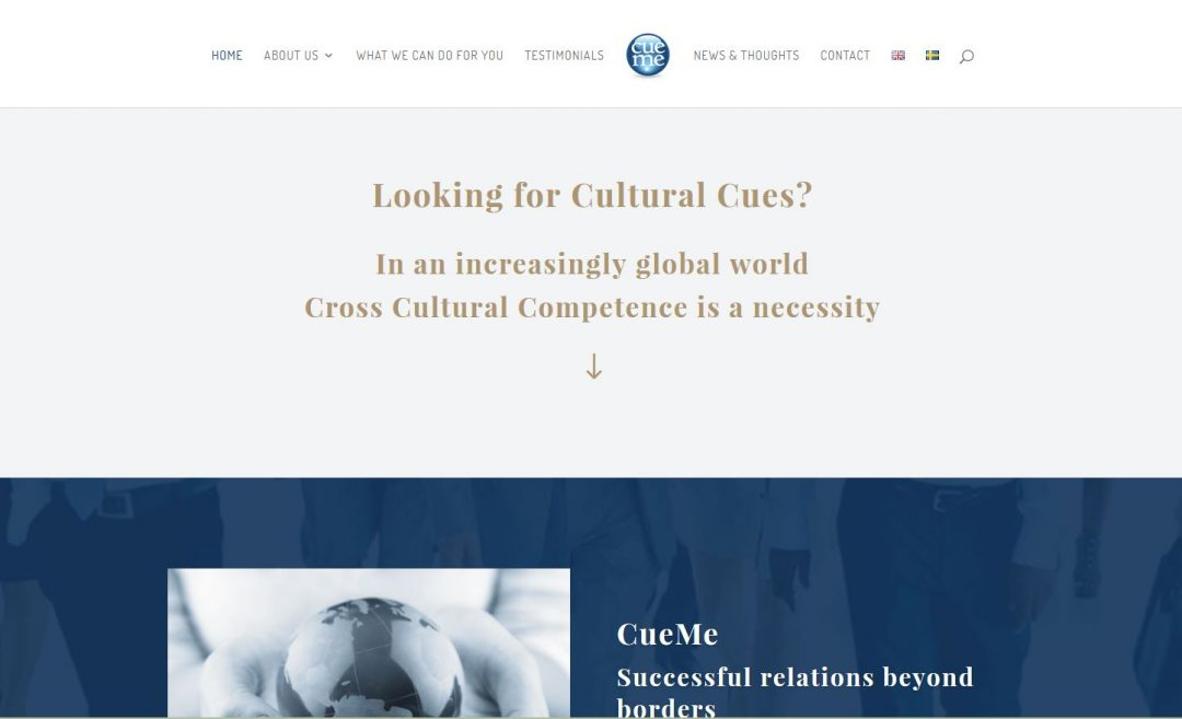 website for cueme in europe