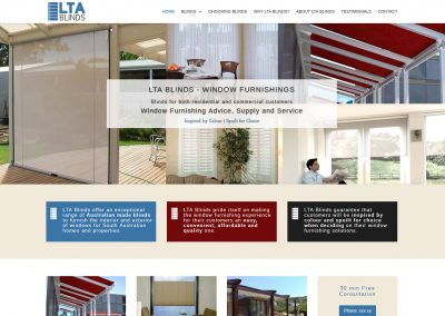 Lta Blinds in Adelaide, commercial and domestic blinds