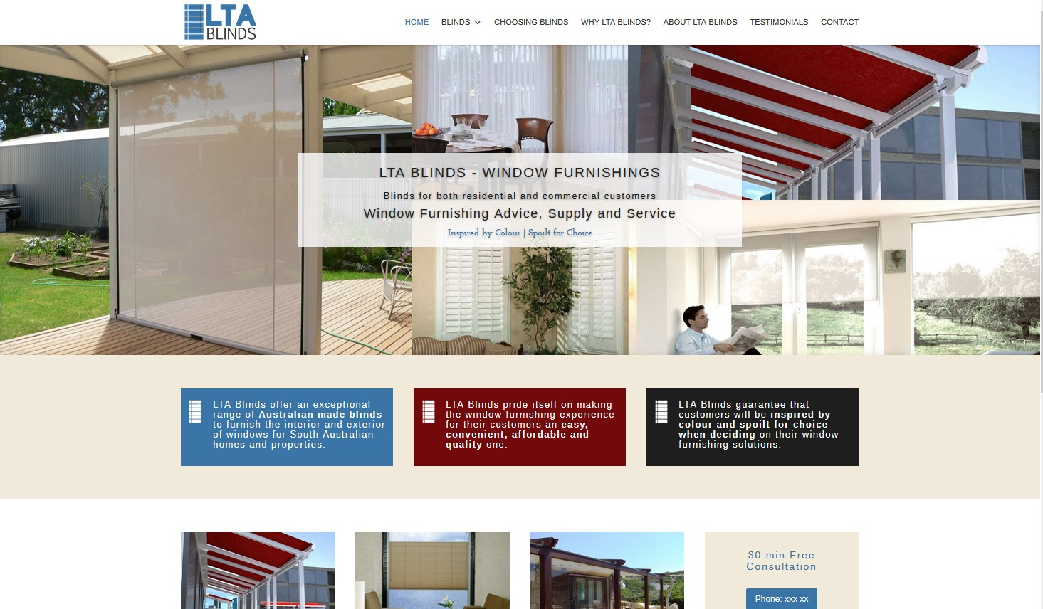 LTA Blinds in Adelaide for commercial and domestic blinds installations