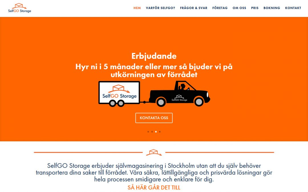 Self Go Storage in Sweden