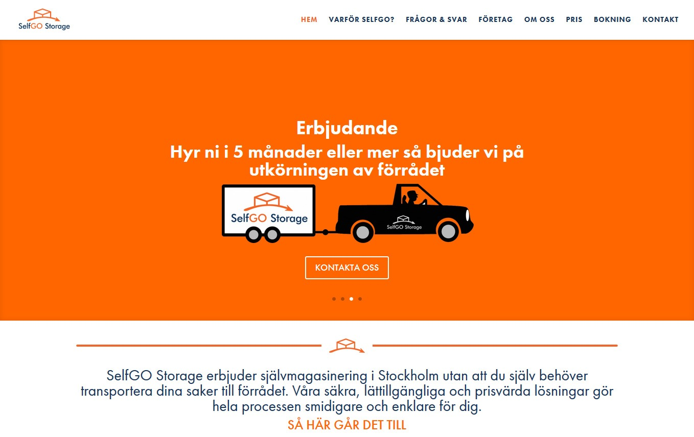 Self Go Storage in Sweden