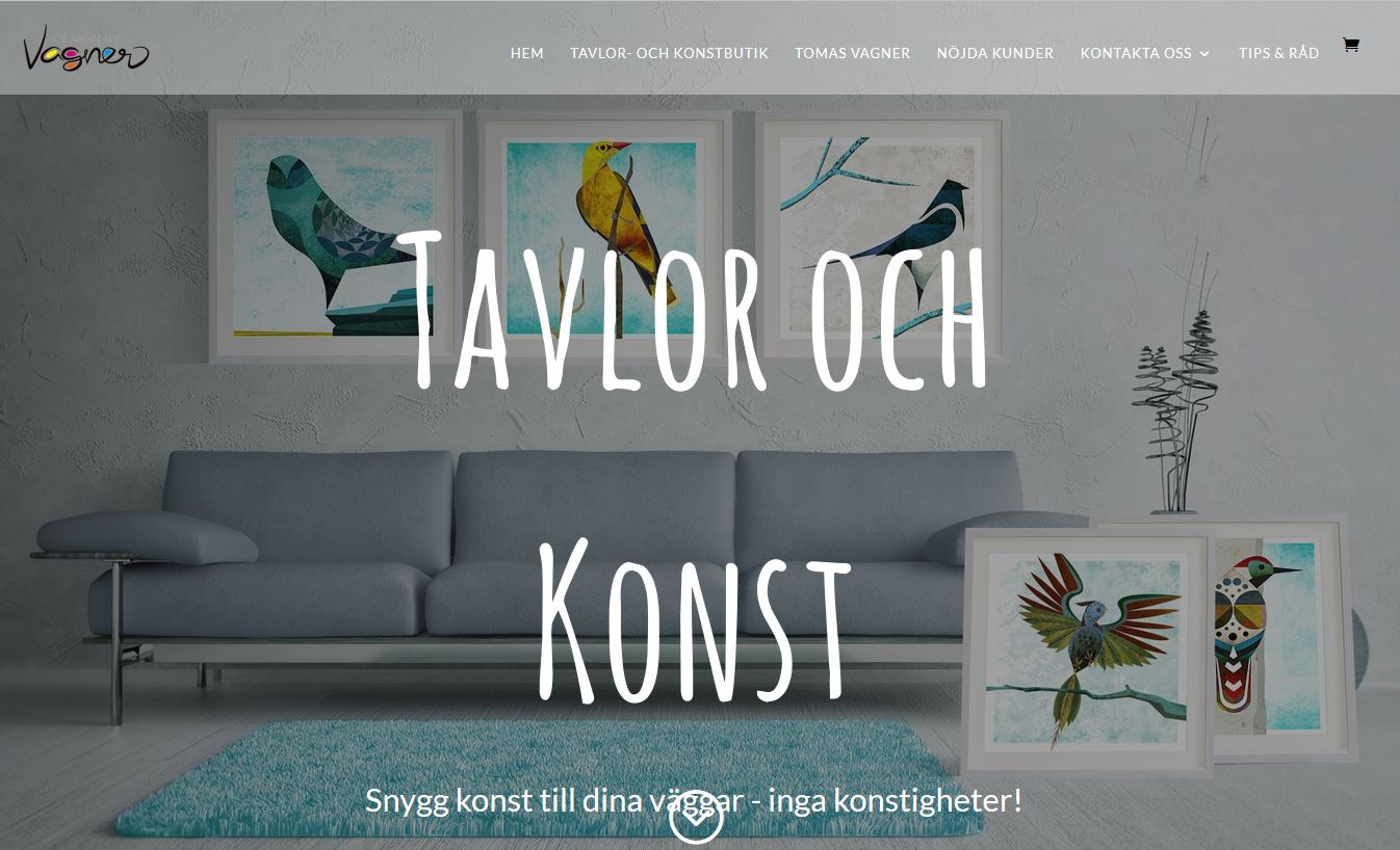 Website design art website