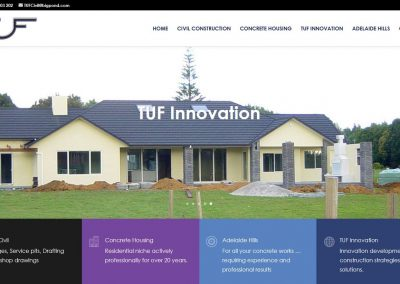 Website for TUF Civil Constructions