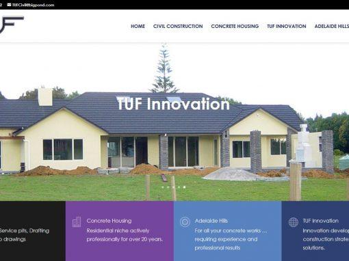 Website for TUF Civil Constructions