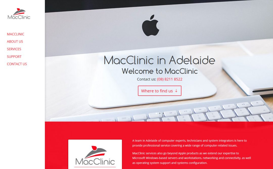 website design in Adelaide