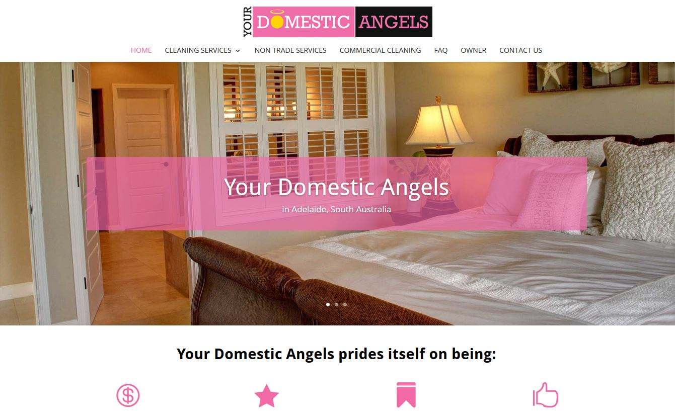website for your domestic angels in Adelaide