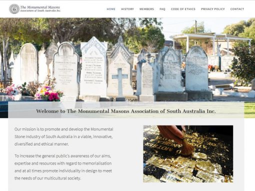 The Monumental Masons Association of South Australia