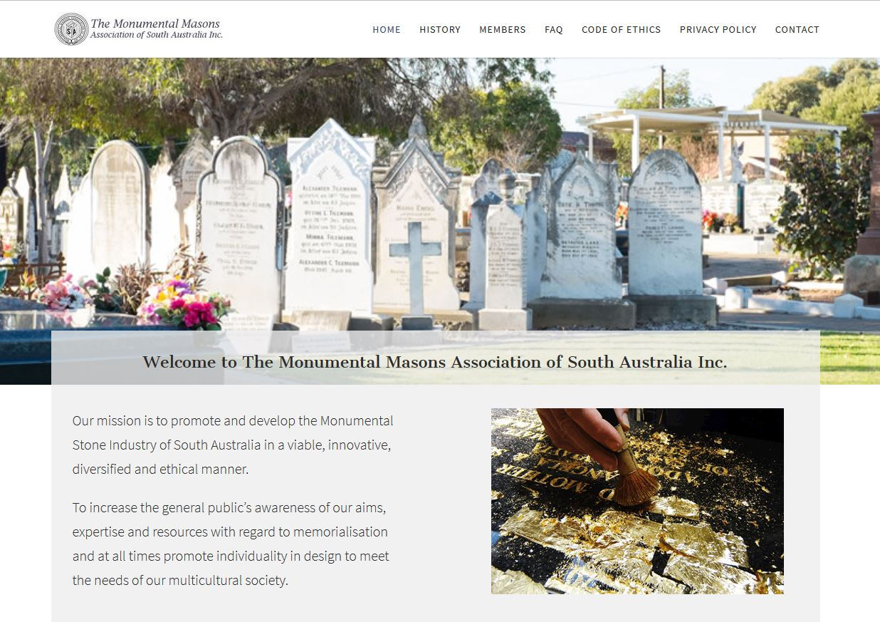 The Monumental Masons Association of South Australia