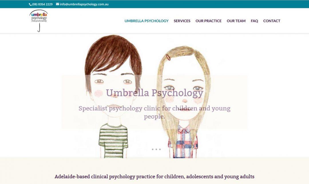 website for Umbrella Psychology