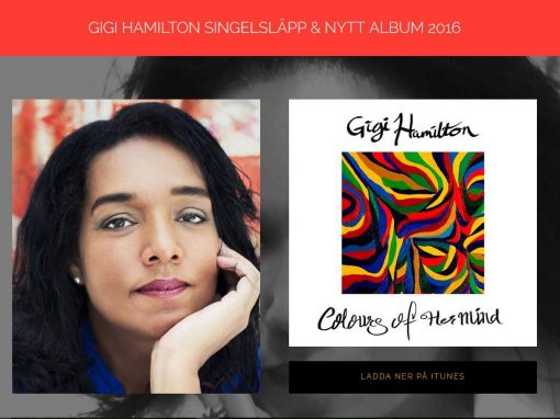Website for Gigi Hamilton Singer in Sweden