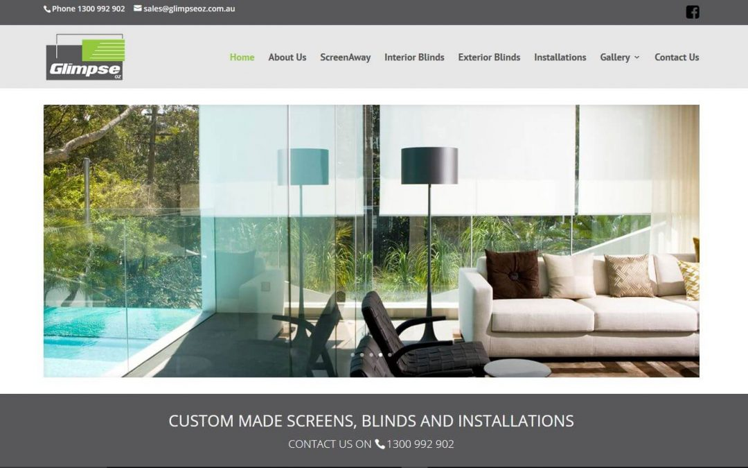 Custom made screens, blinds and installations