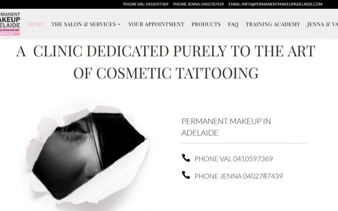 Permanent Makeup in Adelaide Website