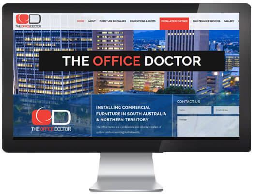 website design in adelaide for the office doctor