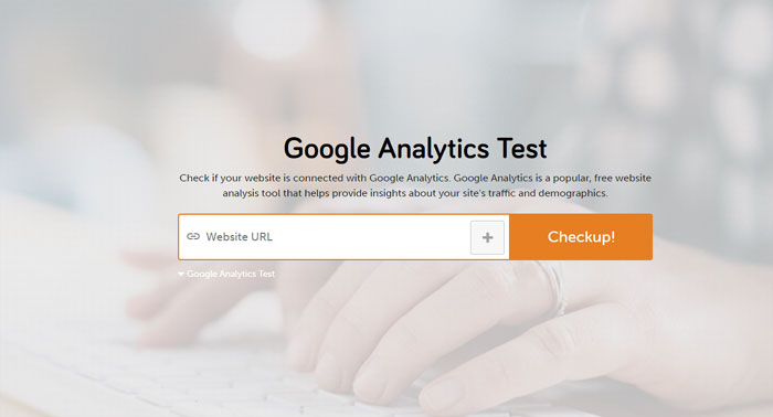 Google Analytics test