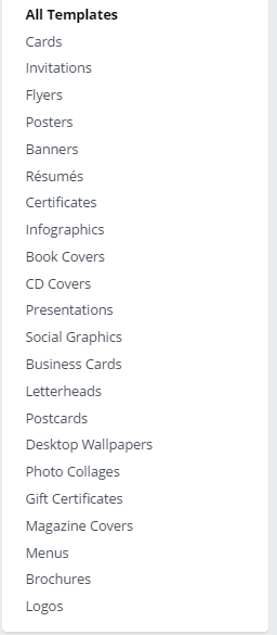 canva services list