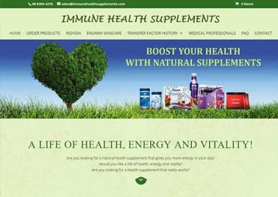 Immune Health Supplements