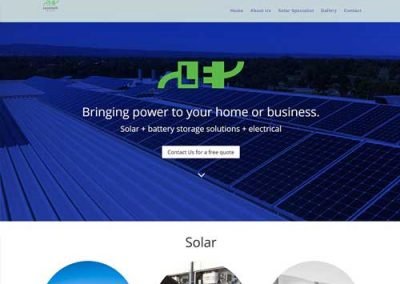 Lovelock Electrical Website Design