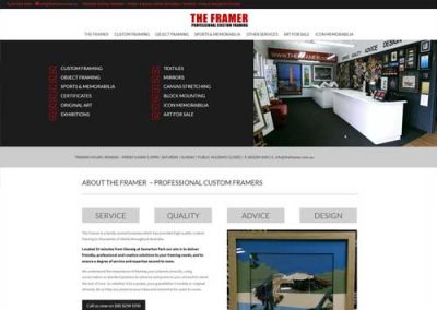 The Framer Website Design