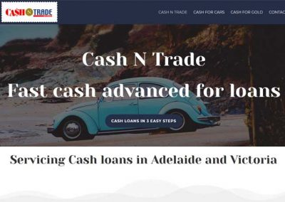 Website for Cash N Trade