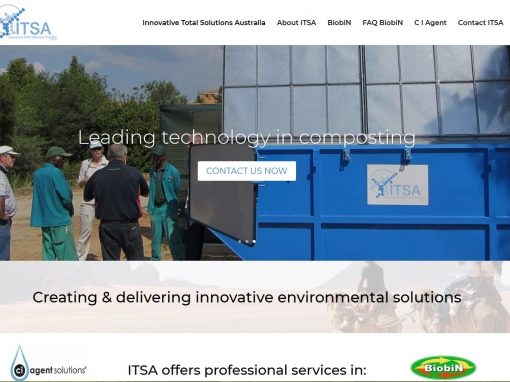 Website for Innovative Total Solutions Australia