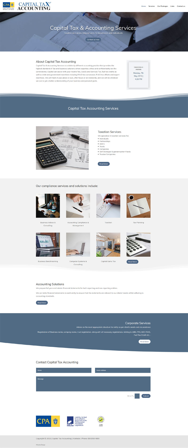 website design in adelaide small business