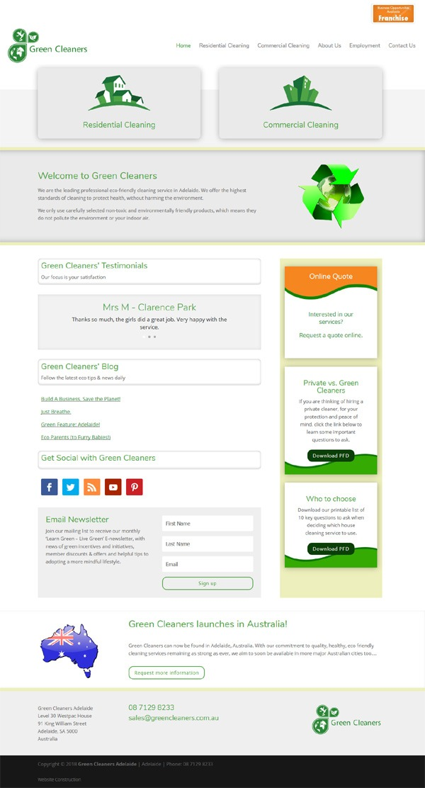 website design for small business in adelaide