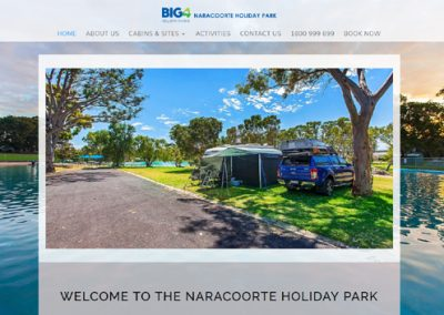Website Naracoorte Holiday Park