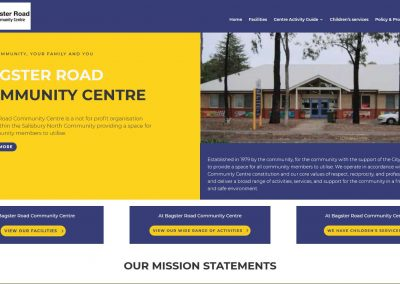 Bagster Road Community Centre website