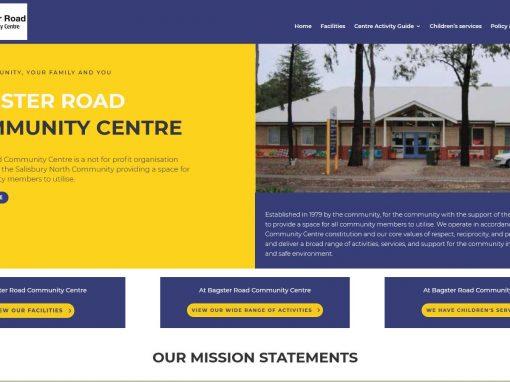 Bagster Road Community Centre website
