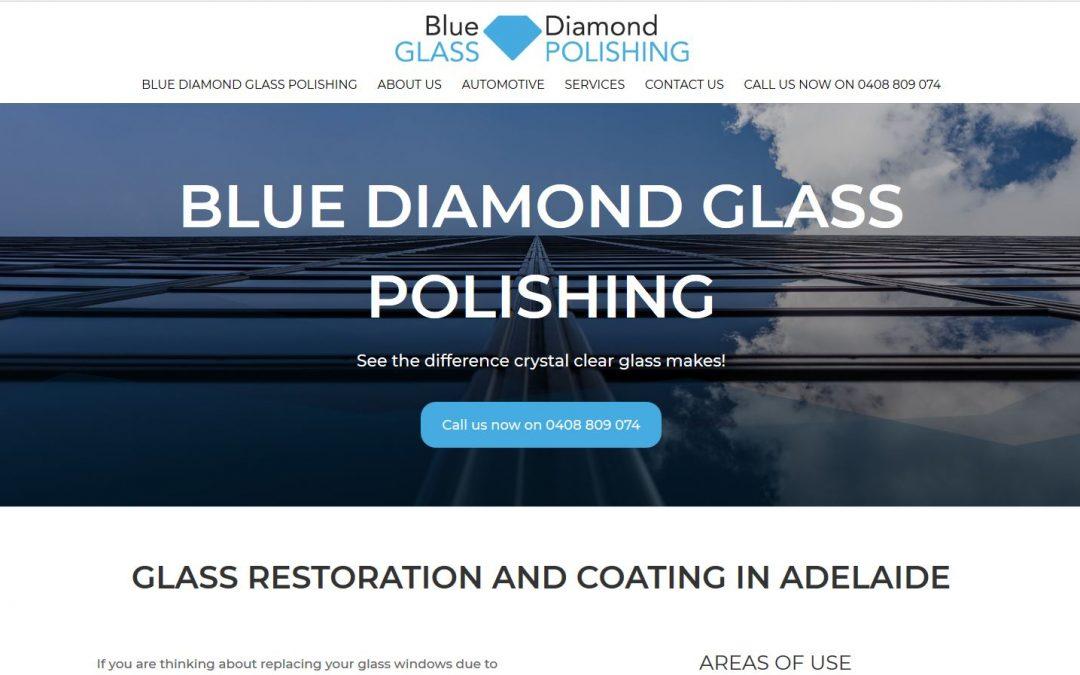 Website for blue diamond glass polishing