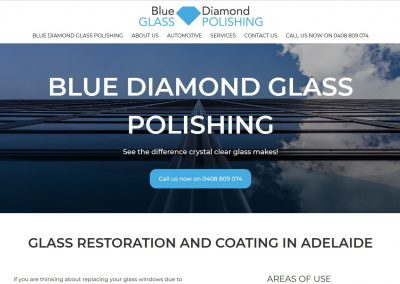 Website for blue diamond glass polishing