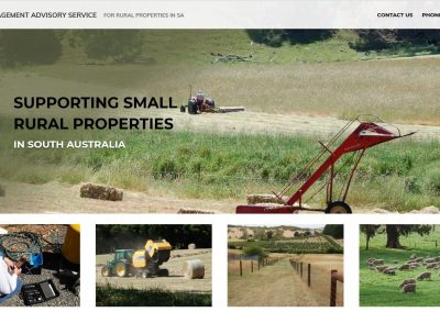 Website for Land Management Advisory Service