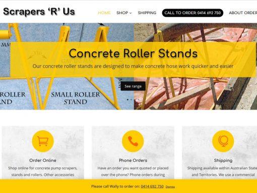 Website for Scrapers R Us