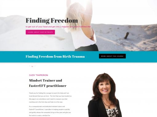 Website for Finding Freedom