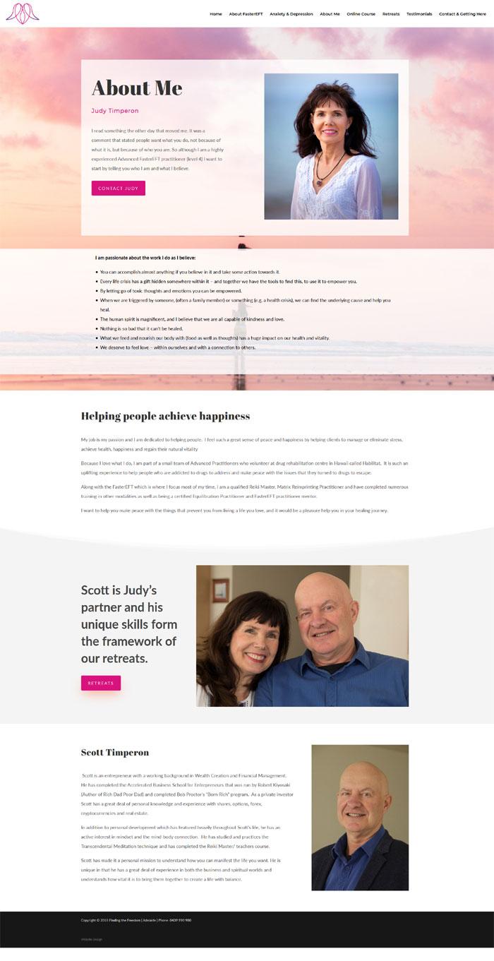 website design adelaide wordpress membership small business coach