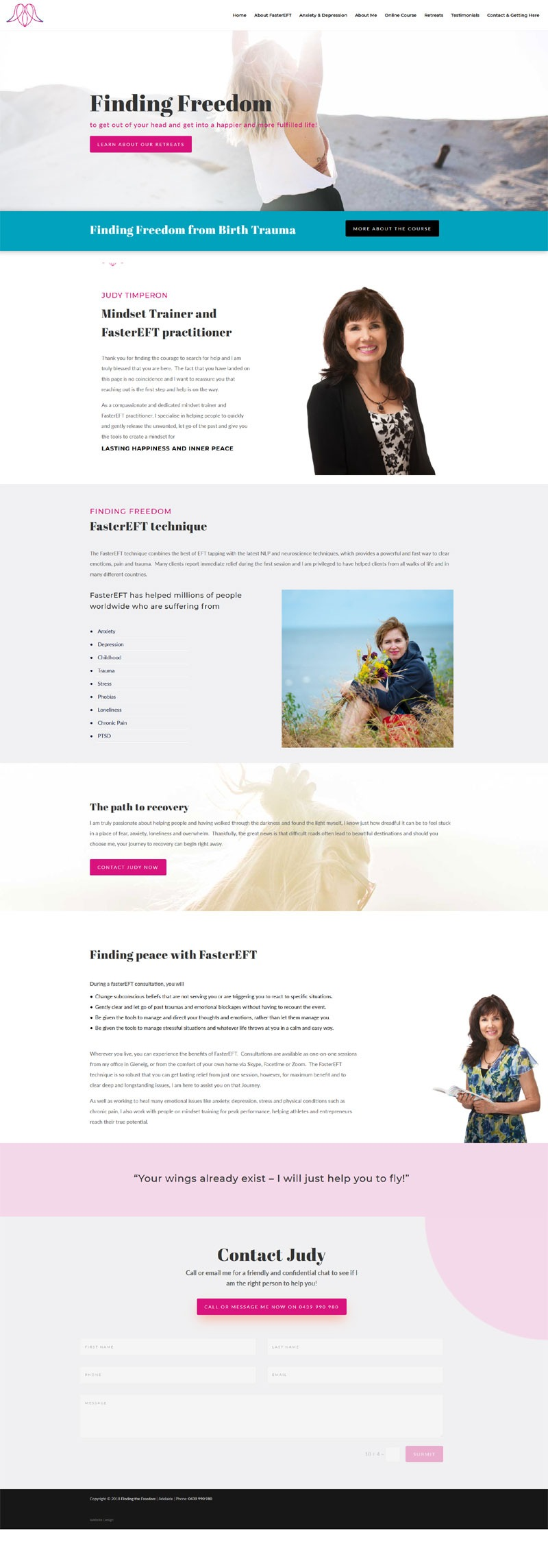 website design adelaide wordpress membership small business coach