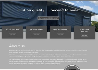 Website for DHE Group