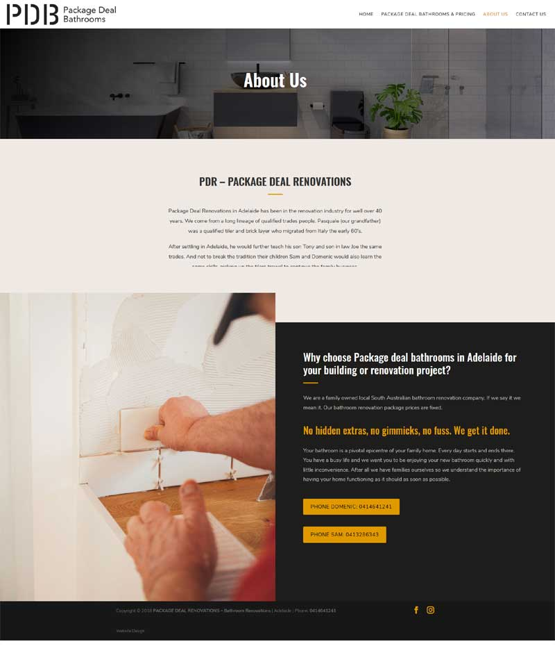 website design for small business adelaide