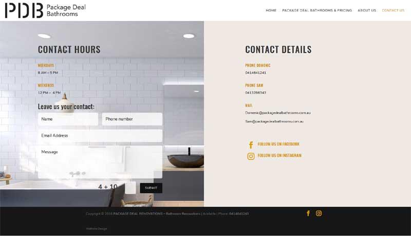 website design for small business adelaide