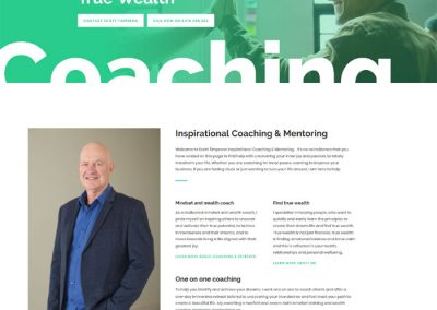 Website design for True Wealth Consulting in Adelaide