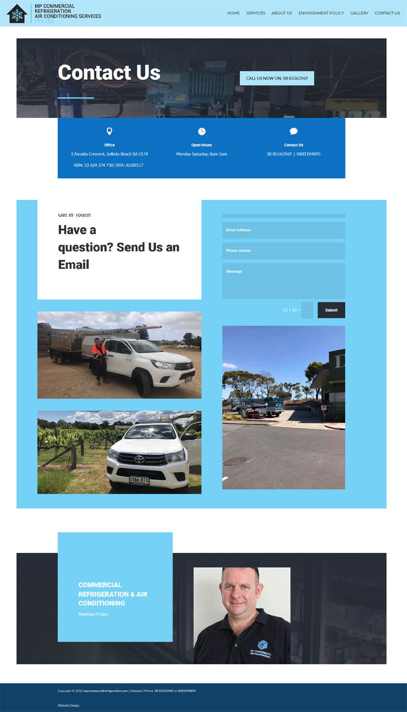 business website design adelaide