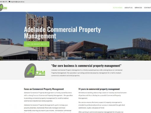 Website for ACPM Services