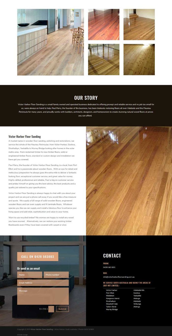 website for victor harbor floorsanding